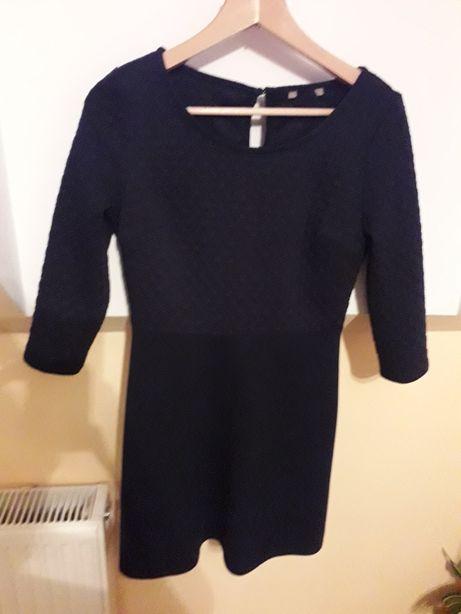 Sukienka 38 . Granatowa