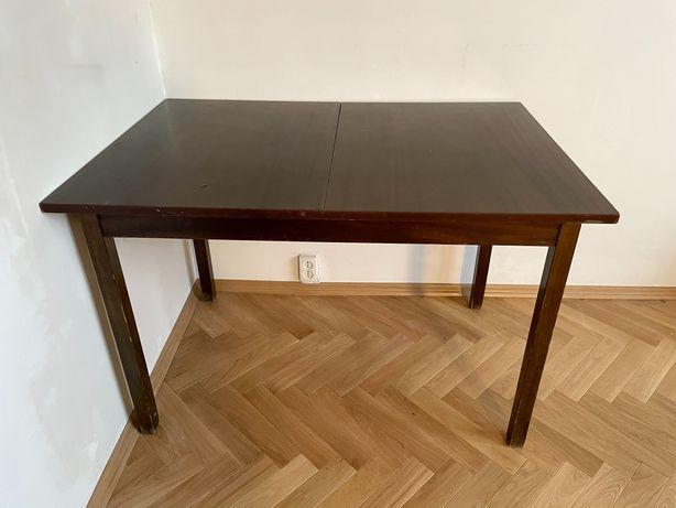 Stół rozkładany jadalniany prl vintage, do renowacji