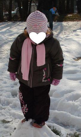Куртка і комбінезон на дівчинку 2-4 роки