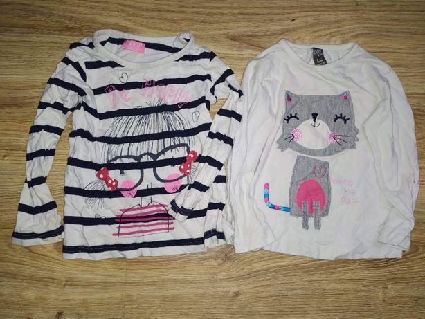 Bluzeczki dziewczynki 2 lata