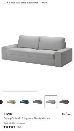 Capas sofá kivic