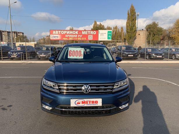 Volkswagen Tiguan 2018г.в. ВЗНОС 30%АвтоРынок - METRO-Кривой Рог
