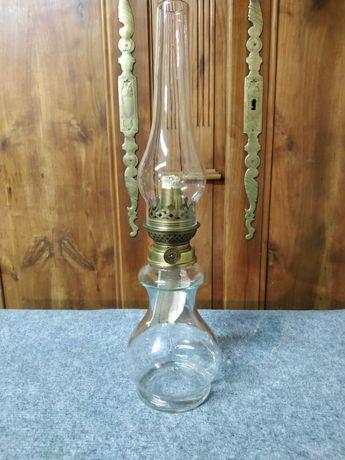 Lampa naftowa szklana