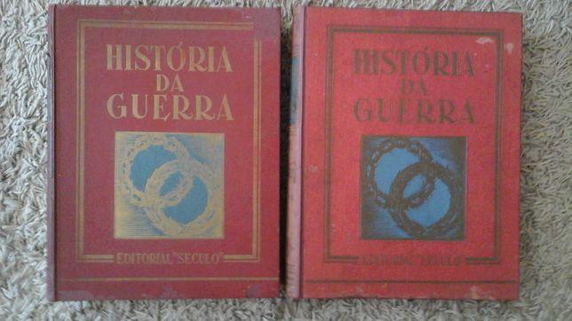 História da Guerra (2 volumes) O Século * Carlos Ferrão * Excelente