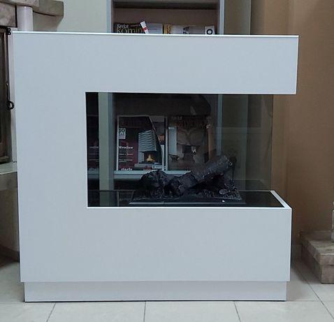 Kominek elektryczny Dimplex 3D ZEN biały
