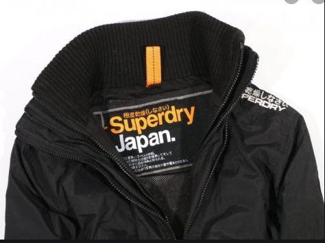 SUPERDRY JAPAN Męska kurtka na polarze M Okazja