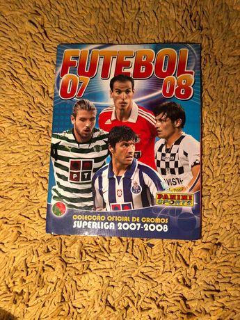Caderneta Liga Nos 2007/2008