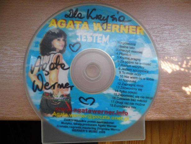 Agata Werner - płyta z autografem
