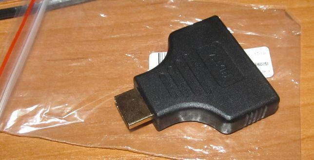 HDMI Męski HDMI 2 żeńskie 1 w 2 Adapter V1.4 przełącznik HDTV