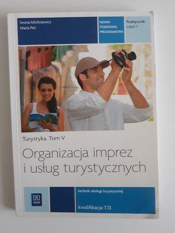 Podręcznik organizacja imprez i usług turystycznych WSiP OKAZJA