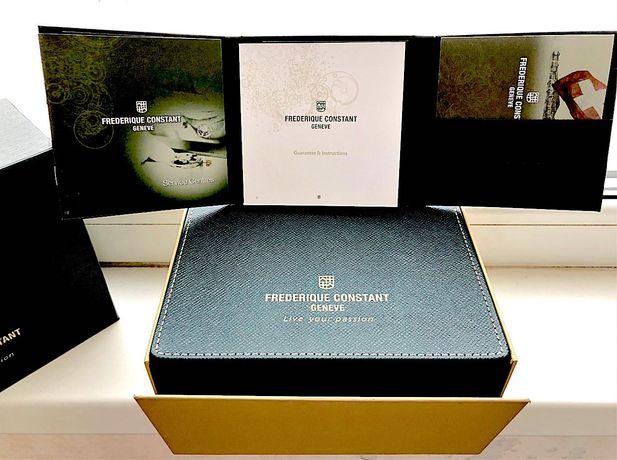 Frederique Constant: документы, гарантийный талон, упаковка.