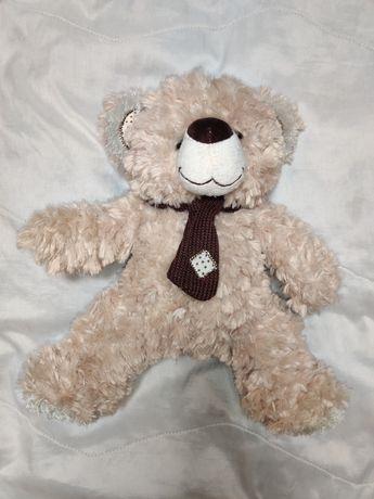 Мягкий медведь с шарфиком, медвежонок, мягкая игрушка