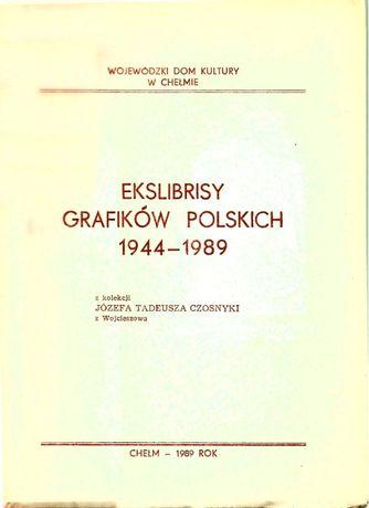 Ekslibrisy grafikow polskich 1944 do 1989