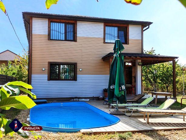 Продам дом с бассейном в Каролино-Бугазе