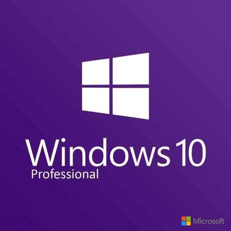 Microsoft Windows 10 Pro Professional PL 32/64 bit - KLUCZ
