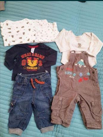 Zestaw ubrań chłopiec 68cm c&a Early Days m&s
