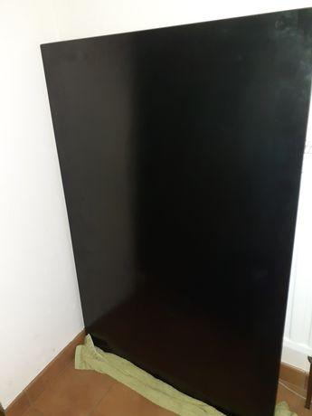 Blat do szklanego biurka +  stelaż Z line kompletne szklane biurko