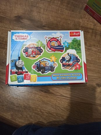 Puzzle grube 4mm Thomas&Friends wiek 2+ Trefl
