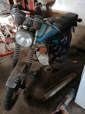 Mota clássica Mz etz 125cc