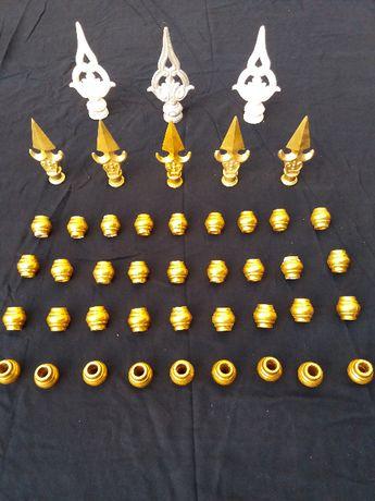 47 Peças Decorativas para Serralharia