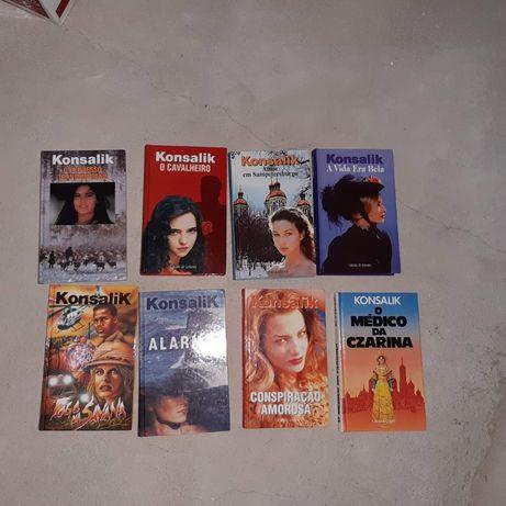 Diversos livros de Konsalik