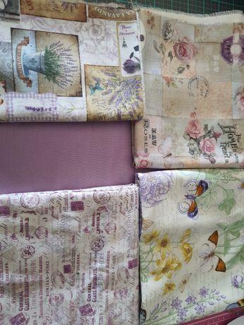 Pack de Tecidos variados 50x50 cm
