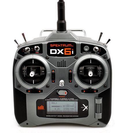 Spektrum DX6i DSMX; sticks modo2