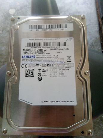Disco rígido Samsung (HD501LJ 500 GB/7200rpm/16M) em estado novo.!