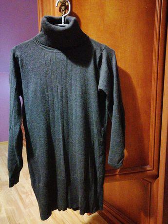 Tunika golf sweter