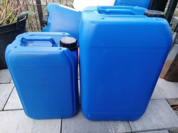 Karnistry pojemniki czyste 5,10. 20 ,25 litrów