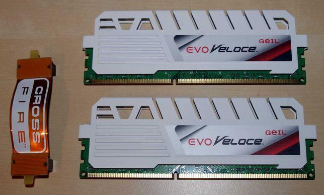 Geil Evo Veloce 4Gb x 2 (8Gb Kit) DDR3, 1600 MHz