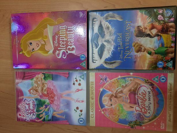 Bajki  Disney ma DVD  Barbie  Dzwoneczek