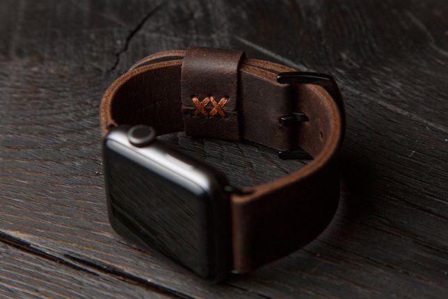 Кожаный ремешок для Apple Watch 38/40 и 42/44 мм