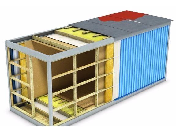 Контейнер морской: Бытовка каркасная, жилой модуль, загородное жильё.