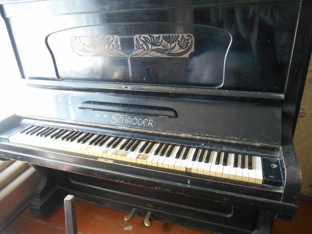 Пианино Schroder C.M 1000 рублей