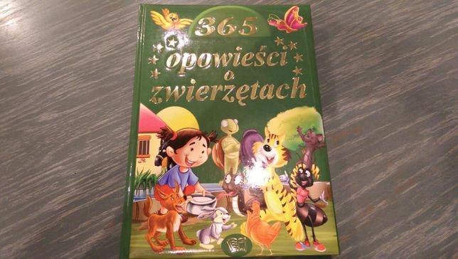 """Książka """"365 opowieści o zwierzętach"""" nowa"""