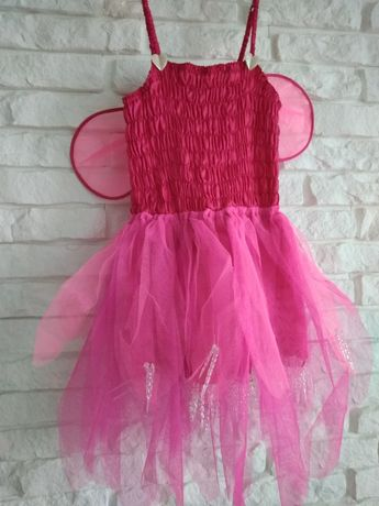 Sukienka, strój, przebranie wróżki, Dzwoneczek, motylek