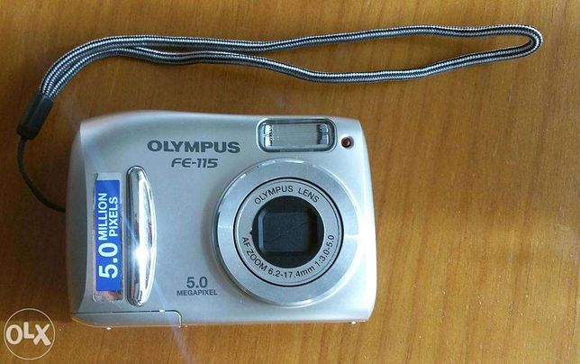 Máquina fotográfica Olympus FE-115