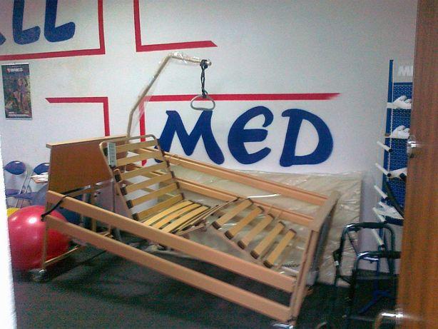 Łóżko rehabilitacyjne sterowane pilotem Burmeier Dali