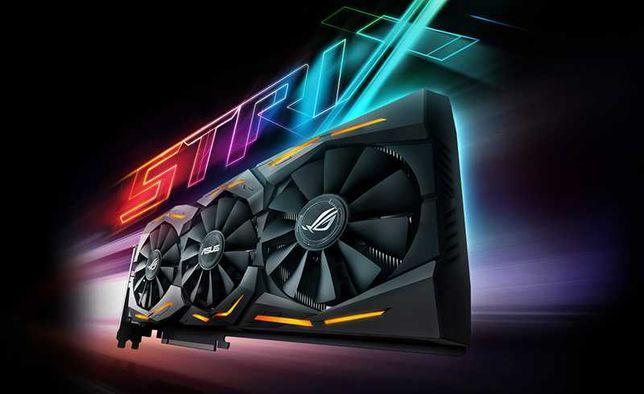 Гарантія! Відеокарта Asus GTX 1080 8Gb Rog Strix Advanced
