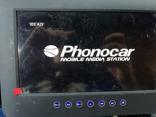 Odtwarzacz samochodowy dvd usb Phonocar 9 cali