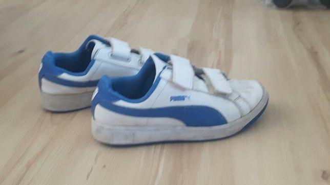 Buty PUMA 34,5 chłopięce roz. 21 cm