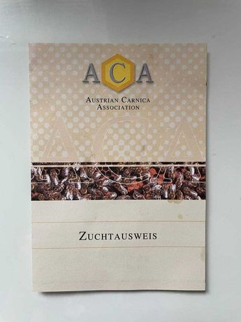 Пчеломатка Карника Лампрехт ( австрийский материал с паспортом ) F1
