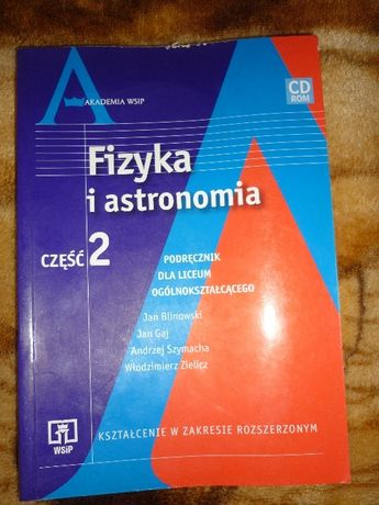 Fizyka i astronomia część 2 WSiP Blinowski