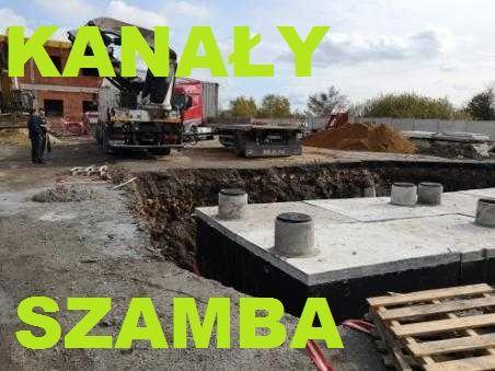 Zbiornik betonowy na gnojówkę 10000 litrów 10m3 szambo