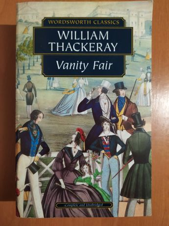 """Книга англійською. William Thackeray """"Vanity Fair"""" Вільям Текерей."""