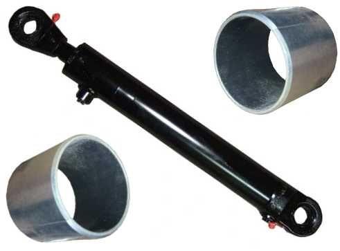 SIŁOWNIK HYDRAULICZNY cylinder tłok ładowacz czołowy 50/28/160 +TULEJE