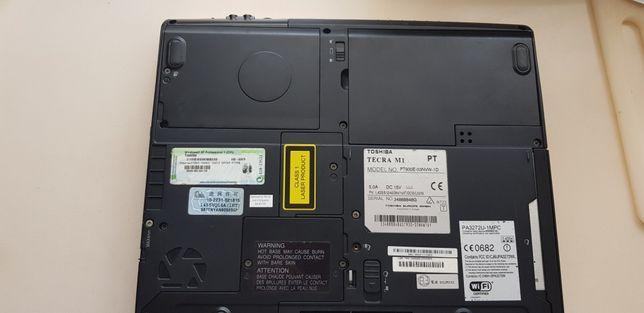 Toshiba TECRA M1 para peças com leitor DVD e gravador CD