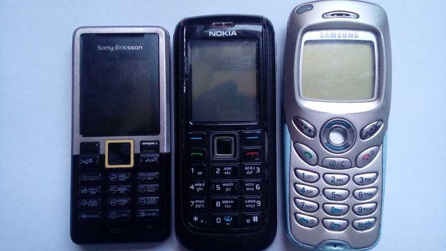 Мобильный телефон Samsung SGH-N500  , Nokia 6151 , sony ericsson t280i