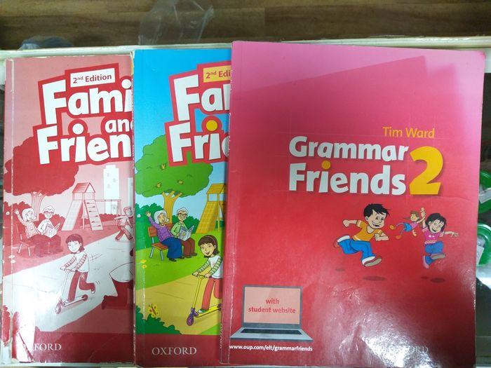 Family and friends 2, Classbook, Workbook, Grammar Українка - зображення 1
